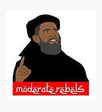 Obama ''moderate rebels'' shirt Photographic Print