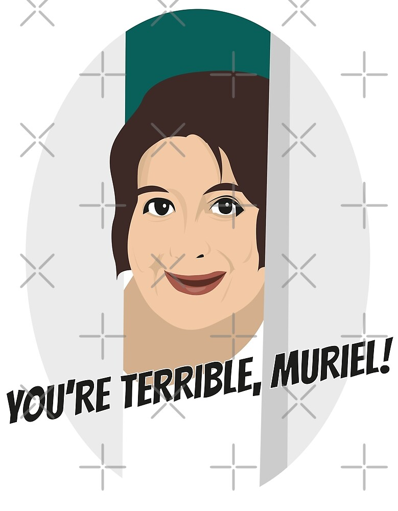 Terrible, Muriel! by gregs-celeb-art