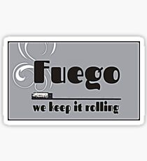 Fuego - We Keep It Rolling (papers) Sticker