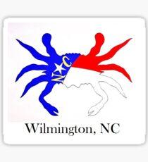 NC Crab  (Wilmington, NC) Sticker