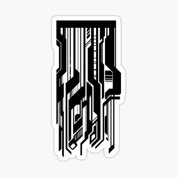 Cyberpunk Pattern Sticker
