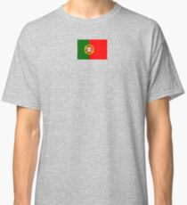 Portugal Flag Products Classic T-Shirt