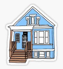 Gallagher House - Shameless Sticker