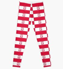Polish Flag State & Civil Products Leggings