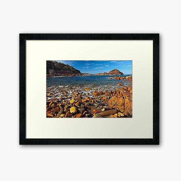 Mimosa Rocks Framed Art Print