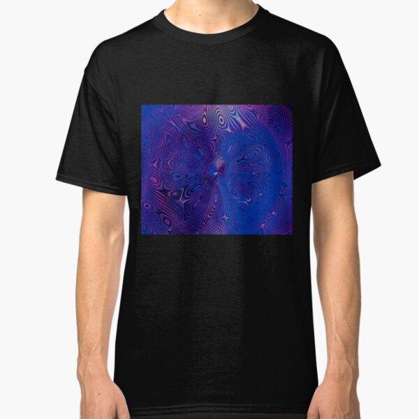 Dragonfly Midnight Swirls Classic T-Shirt