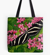 Penta and Longwing Butterfly Tote Bag