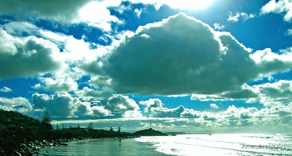Sumner Beach, NZ by John Brotheridge
