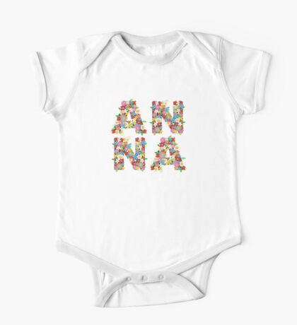 Spring Flowers ANNA Kids Clothes