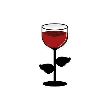 Rose Wine by Soronelite