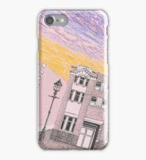 Imaginary Street Scene iPhone Case/Skin