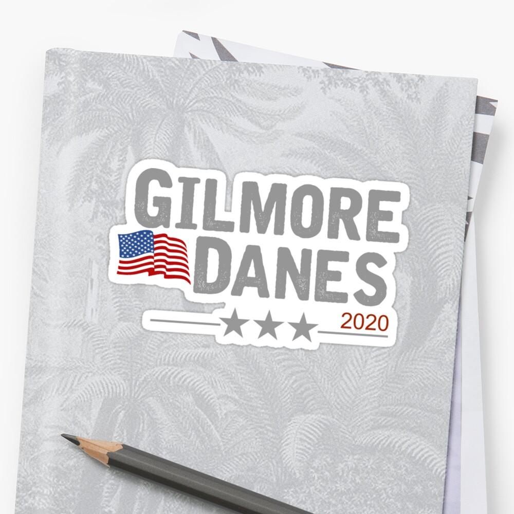 Gilmore/Danes Stickers