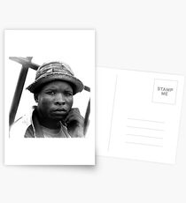 Young Man Postcards