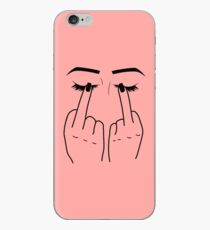 Middle Finger/Eyes iPhone Case