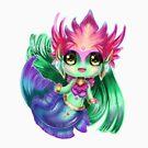 Chibi River Spirit Nami by Pixel-League