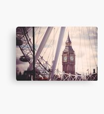 London City Icons Canvas Print