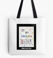 Get Your Chakras Together Tote Bag