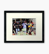 Cuban music Framed Print