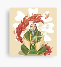 Iroh, Dragon of the West Canvas Print