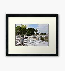 Havana Cemetery (Cuba) Framed Print