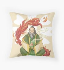 Iroh, Dragon of the West Throw Pillow