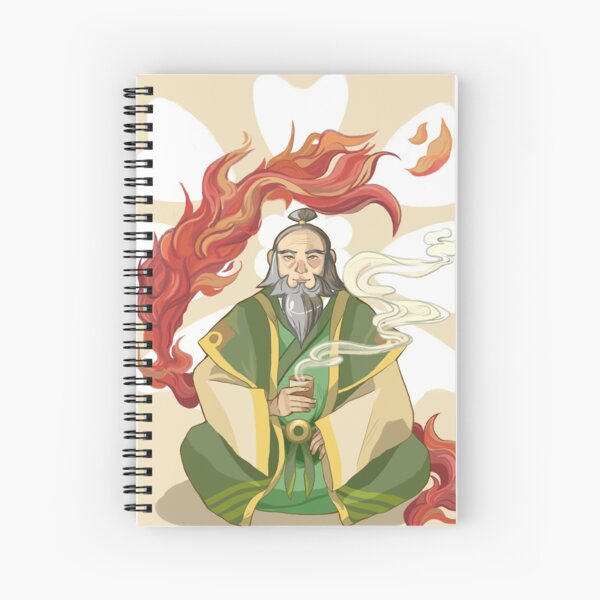Iroh, Dragon of the West Spiral Notebook