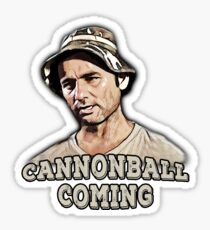 Cannonball coming Sticker