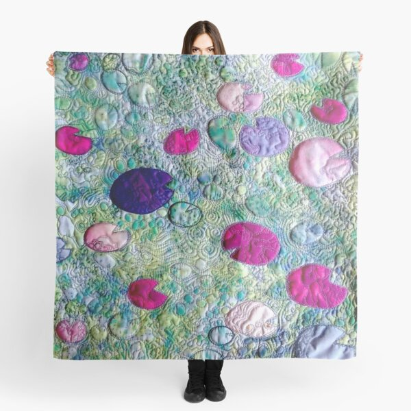Water Lillies #1 Scarf
