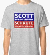The Office - Michael Scott for President, Dwight Schrute for VP T-Shirt Classic T-Shirt