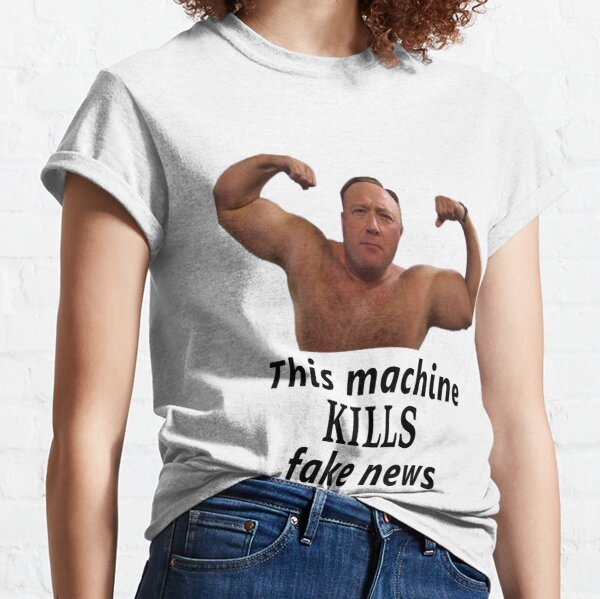 Alex Jones vs. Fake News Classic T-Shirt