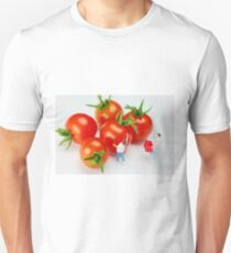 Chefs And Cherry Tomatoes Unisex T-Shirt