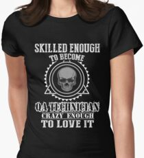 QA TECHNICIAN BEST COLLECTION 2017 Women's Fitted T-Shirt