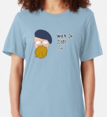 Camiseta ajustada Mythbusters - The Hyneman