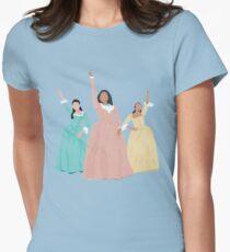 Schuyler Schwestern! Tailliertes T-Shirt für Frauen