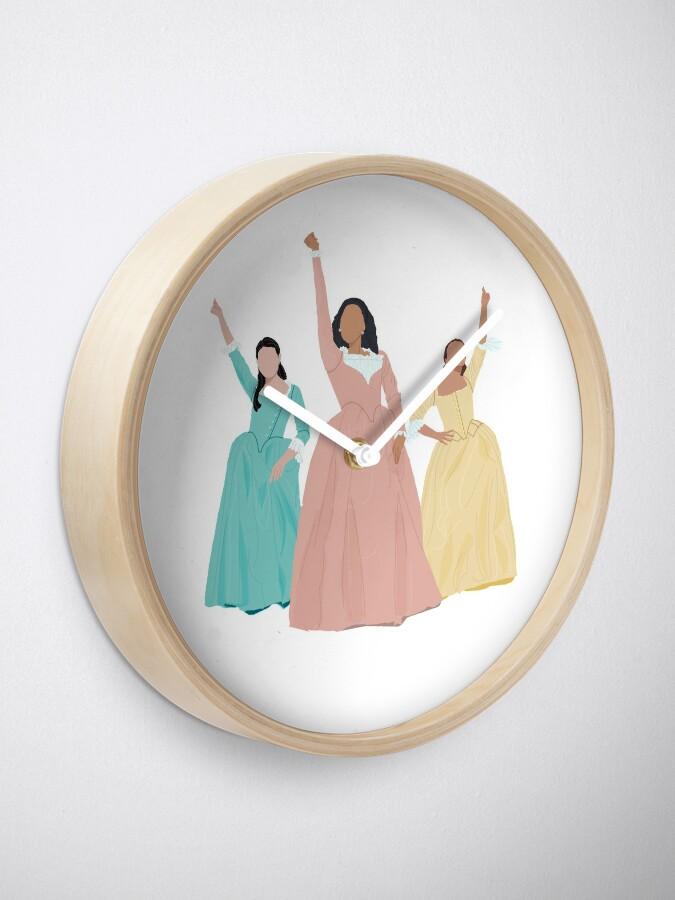 Vista alternativa de Reloj ¡Hermanas Schuyler!