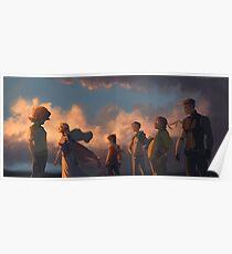 Voltron LD x Sunset Poster