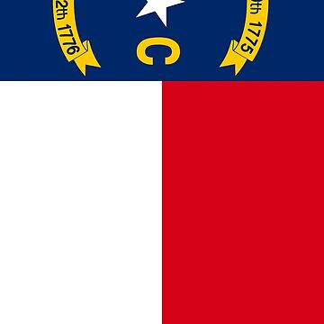 North Carolina Flag by funkeyman5