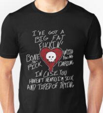 messu love alkaline trio Unisex T-Shirt