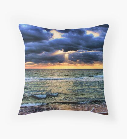 Mother, Mother Ocean Throw Pillow