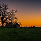 Sunset at the old farm by Daniel Berends