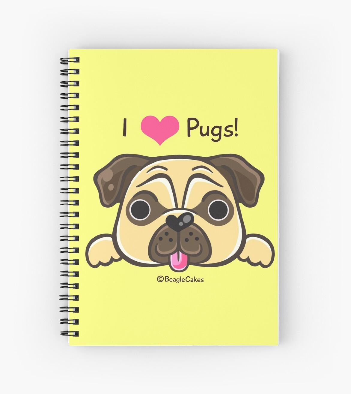 'I <3 Pugs!' by beaglecakes