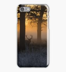 Stags at Sunrise iPhone Case/Skin