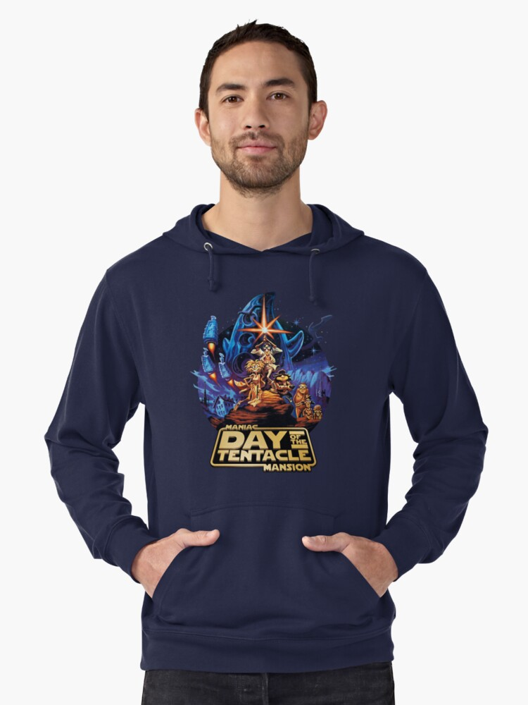 Day of the Tentacle - Star Wars mashup Lightweight Hoodie Front