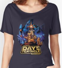 Day of the Tentacle - Star Wars mashup Women's Relaxed Fit T-Shirt