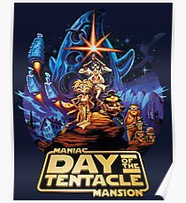 Day of the Tentacle - Star Wars mashup Poster