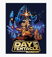 Day of the Tentacle - Star Wars mashup Photographic Print