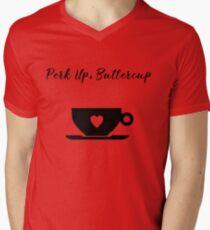 Perk Up, Buttercup Coffee Heart Mug T-Shirt