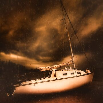 The shipwreck and the storm by jorgophotograph
