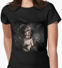 The Monster scarecrow Women's Fitted T-Shirt
