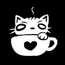 Catfe - Cat & Cafe' by zachsymartsy